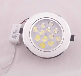 20pcs lot AC85-265V 12W 12x1W Led Ceiling Light, Led ceiling Spotlight, Aluminum+PMMA Lens, CE and ROHS