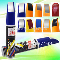 Cheap 1 pcs Free Shipping Cute Many Colors 12ml Car Scratch Remover Repair Professional Paint Pen lWEPL