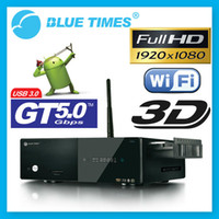 Wholesale Bluetimes B D Android p H MKV Network USB Enclosure Wifi HDMI HDD TV Media Player