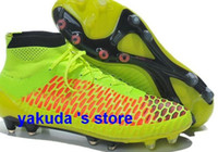 Wholesale Magista Obra Men s Firm Ground Soccer Shoes New Magista Obra FG with quot ACC High Soccer Cleat Shoe Footwear Football Shoes