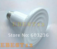 Cheap 20pcs lot 110-240V 50w Flat-type Infrared Ceramic heat lamp (Reptile pet amphibian poultry)