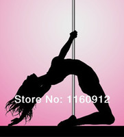 Cheap free shipping Removable Exotic Stripper Dancing Pole Dance Pole 45mm