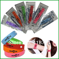 Cheap 3000 PCS DHL Free Ship, Natural Citronella Mosquito Repellent Bracelet Mosquito Killer Mosquito Insect Repellent Hand Strap Band