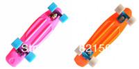 "Cheap Free shippingDHL or Fedex New 22"" Penny Nickel Stereo Retro Cruiser SkateBoard Banana board Skate long boards 2PCS LOT"