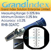 Wholesale 0 brix refractometer RHB ATC