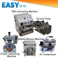 Cheap OCA Vacuum Laminating Machine+Air Compressor+Vacuum Pump+Bubble Remove Machine+Frame Laminating Machine for Mobile Refurbishing