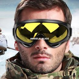 Wolfbike moto ciclismo montar snowboard escalada esquí motos de nieve gafas gafas W1011Y amarillo