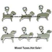 Wholesale Cheapest Pet Id Tags - Wholesale-New arrivals 200pcs lot cheap wholesale dog pendant ,zinc alloy pet id tag,dog tags,,free shipping