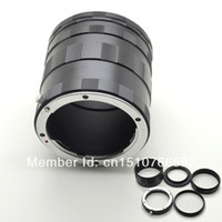 Wholesale 1PC Camera Adapter Macro Ring For Sony A DSLR and Minalta MA Lens A580 A55 WHwlN
