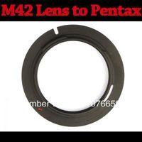 Wholesale New M42 Lens to Pentax PK K100D K200D K20D Mount Adapter Black Y172 tt