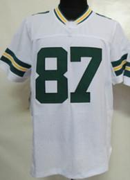 Wholesale Drop Shipping Jordy Nelson Green Game Jersey American Football Jerseys Sportswear Rugby jersey