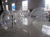Cheap inflatable human hamster ball inflatable bumper ball body zorbing bubble ball(ED)