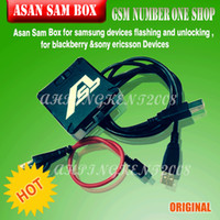 Wholesale ASB Box AsanSam Box Packaged with cables for samsung flashing and unlocking for blackberry Sony