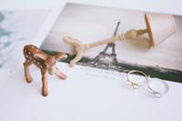 anniversary gifts sister - 10pcs knot ribbon rings knuckle ring knot ring bow ring cute rings rings for women sister rings JZ212