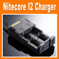 Cheap Nitecore I2 Charger For 16340 18650 14500 26650 Battery E Cigarette 2 in 1 Multi Function Universal Intellicharger(0205008)