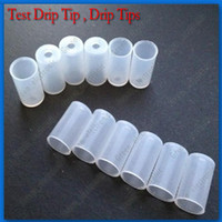 Electronic Cigarette Suction Lid  Silicone Test Drip Tips Caps Disposable Tips Atomizer Cover For Ego CE4 CE5 CE6 CE9 MT3 T2 Clearomizer E Cig Electronic Cigarette Drip Tips