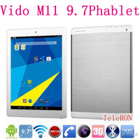 """Under $300 window 9.7 inch tablet 3g built in Yuandao Vido M11 3G Phone Call Tablet PC RK3188 Quad Core 9.7"""" IPS Retina 2048x1536 2GB 16GB 8.0MP Camera Android 4.2"""