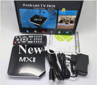 Wholesale 2014 New Arrival Original Product MX AML8726 MX Android TV Box Wifi HDMI P HD GB RAM G ROM DLNA IPTV Smart TV Receiver