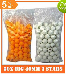 Wholesale X Big mm Stars Best Table Tennis Balls Ping Pong Balls Ping Pong Big Balls