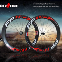Wholesale FFWD F6R mm clincher Tubular bicycle wheels c carbon fiber road bike racing wheelset