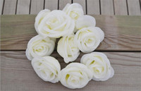 Wedding beige roses - Silk Flower Head Rose cm cm P High Quality Artificial Roses for DIY Wedding Supplies Photograph Props Colors Available