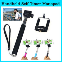 Wholesale Portable Extendable CM Monopod with Universal CM Clip Holder for Camera DV Camcorder for iphone Samsung HTC
