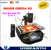 Yes BAUER OMEGA XD welding machinery 220V/110V High quality !!! 2014 new arrival BAUER OMEGA XD Hot Air & IR 2 In 1 welding machinery,desoldering station,bga soldering station