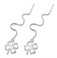 Cheap Dangle & Chandelier Long Chain Style Earring Best Silver Celtic long chain