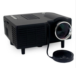 Новый UC28 UC28 + портативный пико водить мини-HDMI видеоигры проектор цифровой карманный домашний кинотеатр projetor proyector 80