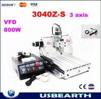 cnc milling machine - hot selling water cooled Z S axis cnc engraving machine w spindle motor milling router station
