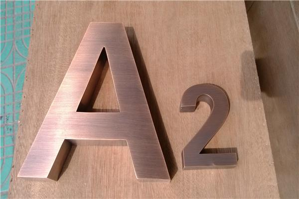 factory outlet outdoor laser cutting small stainless steel letters metal letters for store signs