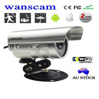 Cheap Wanscam New Plug Play WiFi Wireless CCTV Camera Outdoor housing Wired Network IP Internet Security Surveillance Night Vision