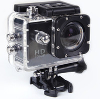 Wholesale SJ4000 Mini P Full HD Outdoor sport camera Diving meter Waterproof Camera degree super wide angle Bicycle Helmet camera Sport DV