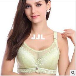 Wholesale Sexy Tube Top Bra Plus Size Bra Thin B C D cup Large bra Fat Women Push Up Adjustable Underwear Safety Bra