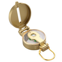 Wholesale army style ABS Compact Pocket Compass for Outdoor Hiking Camping