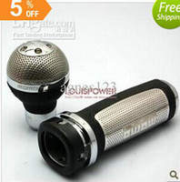 Wholesale MOMO suit mesh gear head the grid handbrake converted Shift Knob Universal Gear head modification top sale