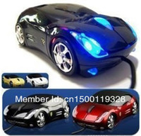 Cheap Wholesale-Free Shipping Wholesale Car Shape USB 3D Optical Mouse Mice the Best Gaming Computer Mouse