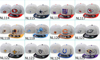 fitted hats - 2014 New man Football Fitted hats baseball fitted caps basketball snapback caps
