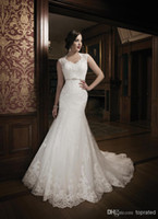 Cheap Mermaid wedding dresses Best White Bridal Dreese