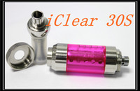 Cheap Original Innokin Iclear 30s iclear 30 Totatable Replaceable Duil Coil Atomizer Clearomizer with Innokin Itaste Nest cleartomizer