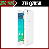 Cheap Original ZTE Q705U 5.7 Inch WCDMA MTK6582m 1.3G1GB RAM 4GB ROM Quad Core Moblie Phone Android 4.2 Dual SIM IPS 1280*720 GPS 5MP