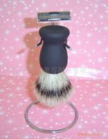 Wholesale Razor set Men s beard brush kit is simple and practical sophisticated models shaving brush