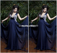Cheap 2014 New Fashion Luxury Purple dubai kaftan abaya jalabiya islamic dresses beaded Chiffon Long Formal Gown Social Prom Evening Dress