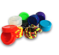 Cheap Newest Colorful Silicone Container Nonsolid Color & Pure Color Jars Dab for Dry Herb Atomizer AGO G5 Wax Vaporizer E Cigarette
