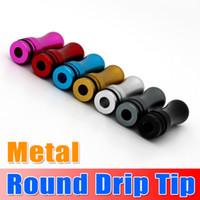 Hot Sale !!! Round Metal Drip Tip Head Metal Round Mouthpiec...