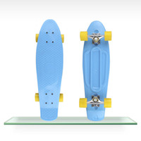 Wholesale 27 quot Nickel Penny Skateboard Complete Original mini Cruiser long skate Fish boards cheap longboard
