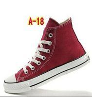 Lace-Up Unisex Cotton Drop Shipping size35-45 New Unisex Low-Top & High-Top Adult Women's Men's Canvas Shoes 13 colors Laced Up Casual Shoes Sneaker shoes shoe 45
