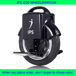 Wholesale IPS I200 Monocycle Aluminum Alloy Pedal One Wheel Scooter Black Antiskid Tire Unicycle With Standard Specification Safe Vehicle Wheelbarrow