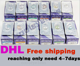 Wholesale EMS so faster have anti counterfeiting label pairs Freshlook Contact lenses crazy lens Tones