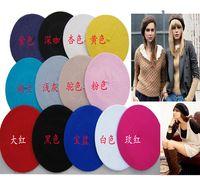 Wholesale Hot Sale Fashion New Lady Womens Wool Blend Beret Beanie Winter Hat Ski Cap Gifts CA03018